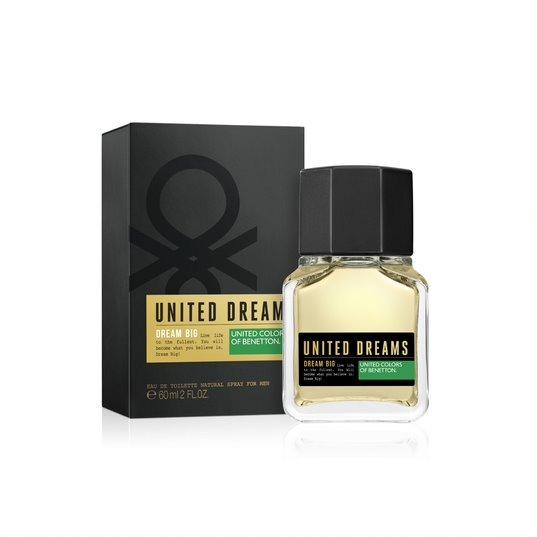 Perfume Masculino Benetton Dream Big Men 60ml