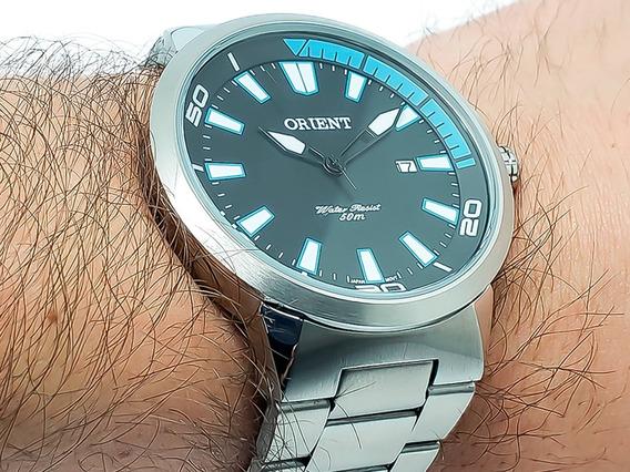 Relógio De Pulso Masculino Orient Mbss1196a Original Nf-e