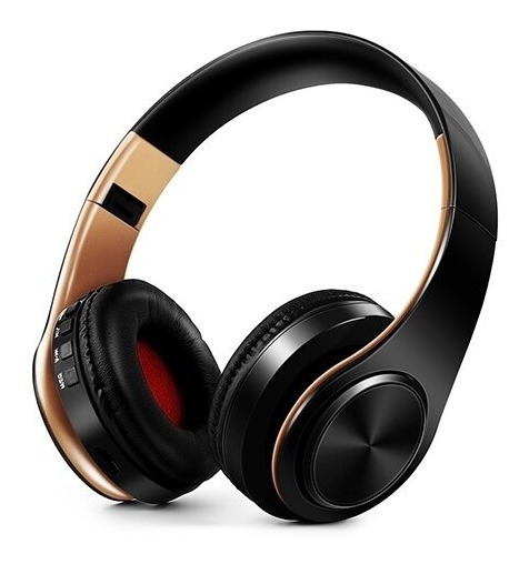 Headphone Bluetooth 5.0 Equalizador Fm Stereo Cartao Sd