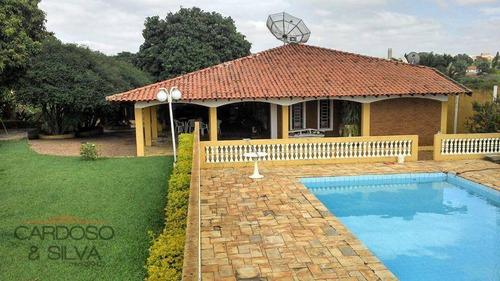 Maravilhosa Chácara A 4 Km De Santa Bárbara - Ch0018