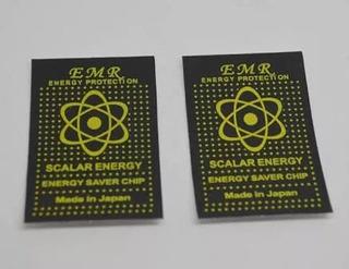Kit 7 Adesivos Anti Radiação Para Celulares Com Certificação