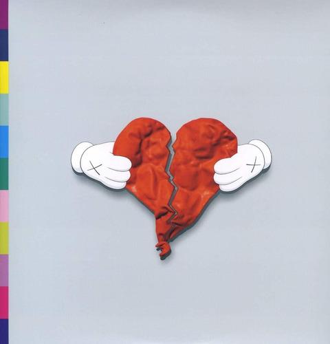 Vinilo Kanye West 808s & Heartbreak [2 Lp And 1 Cd]