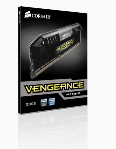 Imagem 1 de 6 de Memoria Pra Pc Corsair 16gb Ddr3 Kit 2x8 Vengeance Pro