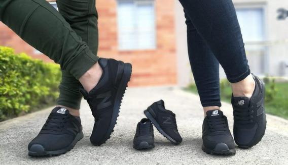 Tenis Zapatos Deportivos De Papá Mamá Hijo Mujer Hombre Niño