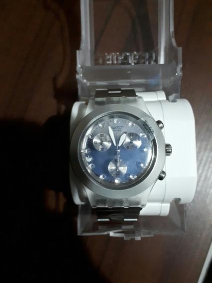 Relógio Suíço Original Swatch Diaphane Irony Até 3 S/juros