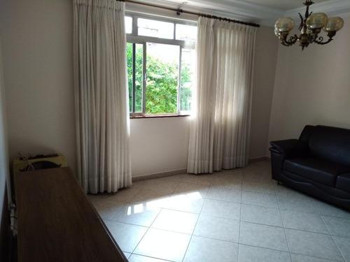 Apartamento Com 3 Dormitórios À Venda, 90 M² Por R$ 350.000,00 - Campo Grande - Santos/sp - Ap5784
