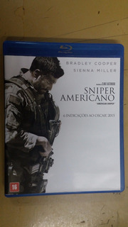 Blu-ray Sniper Americano - Bradley Cooper / Clint Eastwood