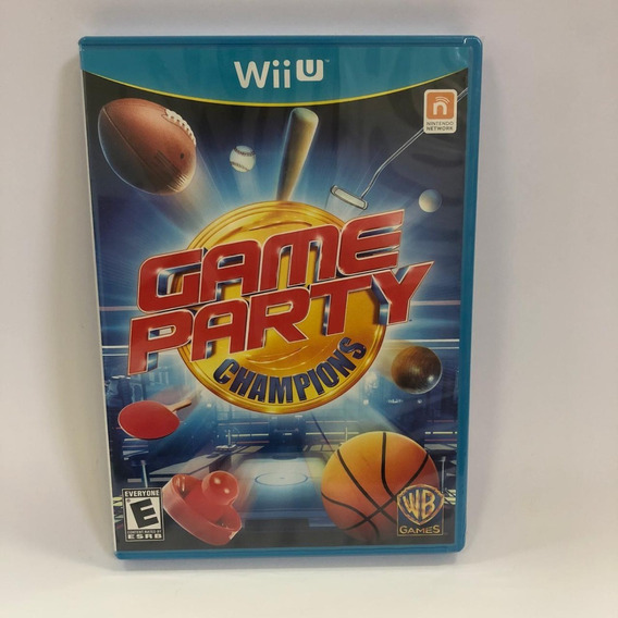 Game Party Champions Nintendo Wii U Lacrado