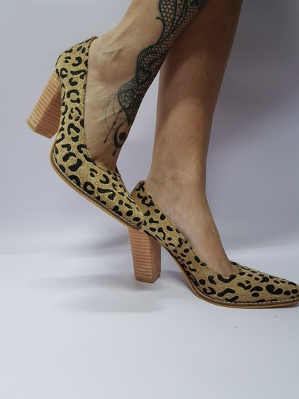 Stiletto Animal Print Stampa Woman