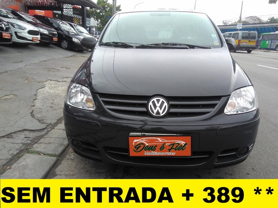 Vw Fox 1.0 Flex 4pts Menos Ar Unico Dono