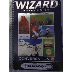 Livro Wizard Com A Caneta