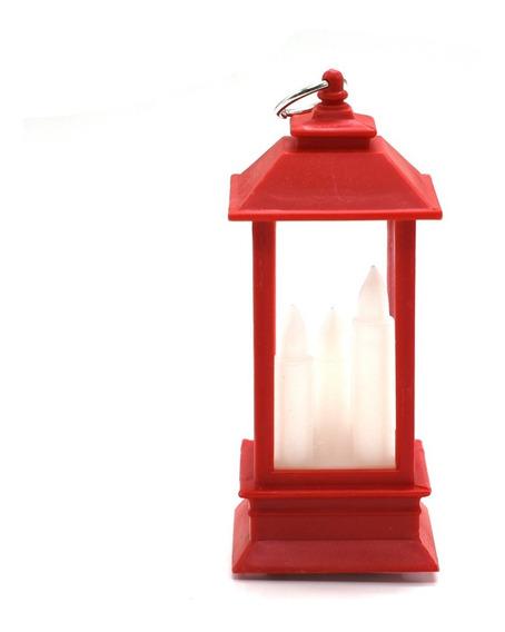 Mini Luminária Lanterna Tipo Vela Decorativa Vela De Led