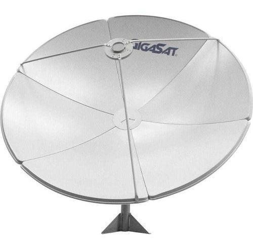 Antena Parab Banda C E Ku 1,20m Cx C/ 3 Gigasat