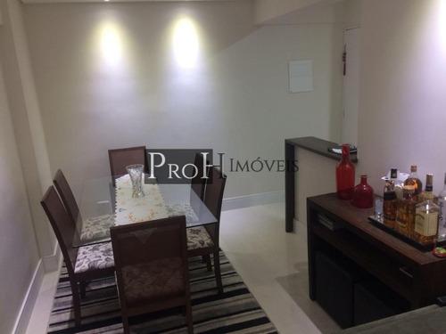 Imagem 1 de 15 de Apartamento Para Venda Em São Bernardo Do Campo, Centro, 2 Dormitórios, 1 Suíte, 2 Banheiros, 1 Vaga - Morflota