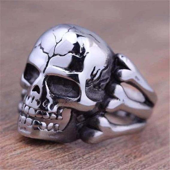Anel Skull Caveira Vintage Unissex