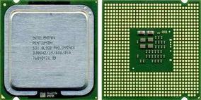 Processador Intel Pentium 4 524 3.00ghz Lga 775