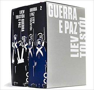 Livro - Guerra E Paz - Tolstoi - Box 2 Volumes - Cosac Naify