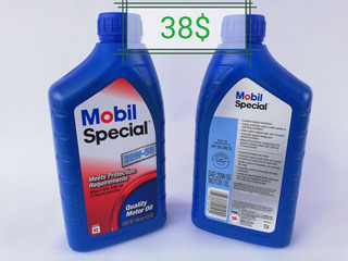 Aceite 20w50 Mineral Mobil Special