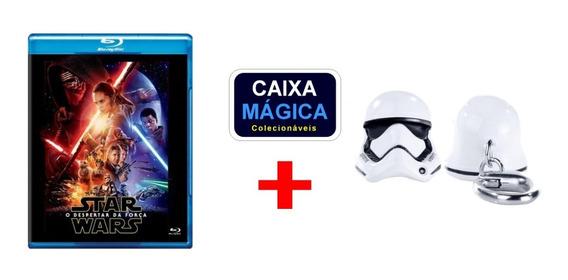 Blu-ray Star Wars Despertar Da Força + Iron Studios Chaveiro