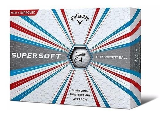 Rieragolf Pelotas Golf Callaway Supersoft - Blanca X 12