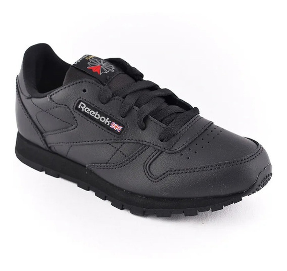 Zapatilla Reebok Classic Leather Negro