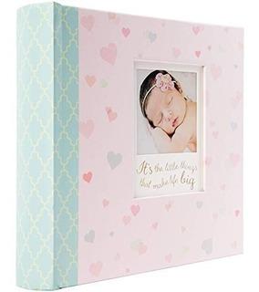 Album De Fotos Recuerdos Del Bebé 40 Pgs Pink