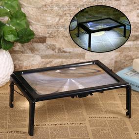 A4 Completo Página 3x Gigante Desk Dobrável De Aumento Vidro