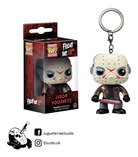 Muñeco Llavero Funko Pop Original Jason Voorhess