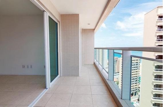 Apartamento Com 3 Quartos À Venda, 91 M², Novo, 2 Vagas - Meireles - Fortaleza/ce - Ap1625