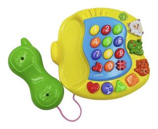Teléfono Musical Didáctico Bebes Luces Y Sonidos