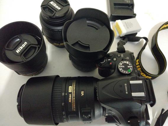 Kit Máquina Nikon D5200