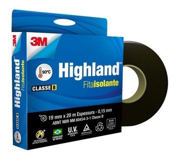 Fita Isolante Highland 19mm X 20m X 0.15mm 3m