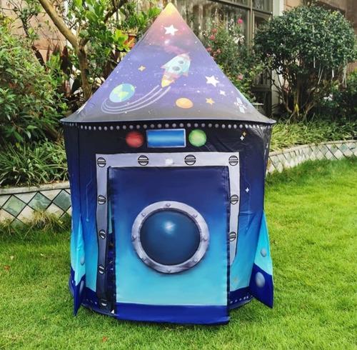 Imagen 1 de 6 de Carpa De Juegos Tienda De Campaña Espacio Exterior Niños