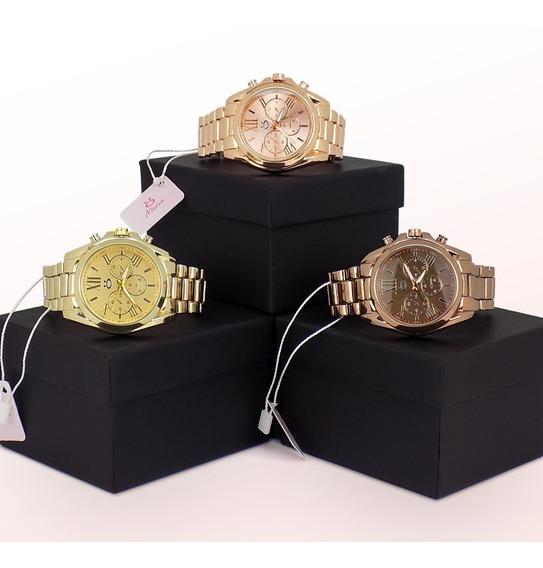 Kit 3 Relógios Orizom Maria Original