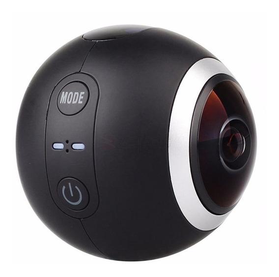 Câmera Esporte 360° Sjcam Sj360 2k Com Wifi Panorâmica