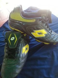 Zapatos De Futbol Usados Marca Lotto Originales. Talla 39