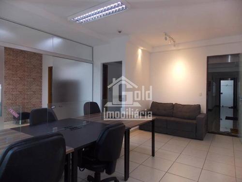 Sala Para Alugar, 46 M² Por R$ 1.400,00/mês - Jardim São Luiz - Ribeirão Preto/sp - Sa0375