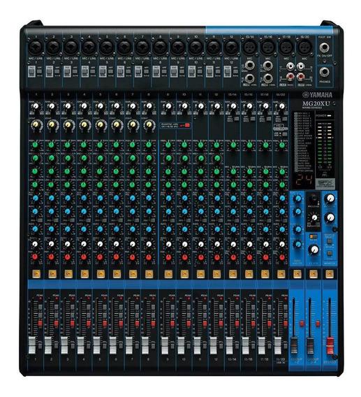Mesa De Som Yamaha Mg20xu | Usb | Efeitos | Garantia | Nfe