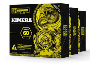 Kimera Thermo - 60 Comps - Kit 3 Caixas - Termogênico