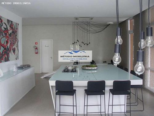 Imagem 1 de 15 de Apartamento Para Venda Em São Paulo, Brooklin, 2 Dormitórios, 1 Suíte, 2 Banheiros, 2 Vagas - 12840_1-1599395