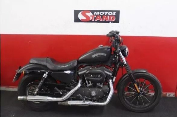 Harley Davidson Sportster Xl 883 N Iron Abs 2015 Preta Preto