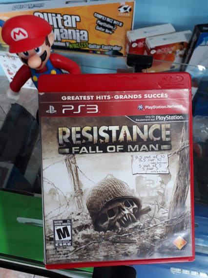 Resistance Fall Of Man Para Ps3 (fatality Games)