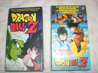 Pack Vhs Anime Dragon Ball Z - Barrio Flores