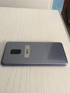 Celular Samsung A8 (2018) Ametista - Usado Ótimo Estado!