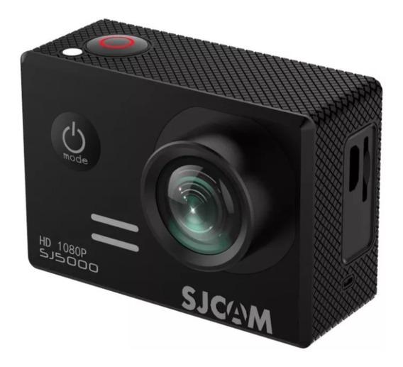Sj5000 Sjcam Com Microfone Motovlog+cartao 32 Gb Patomotosjr