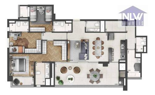 Apartamento Com 3 Dormitórios À Venda, 145 M² Por R$ 2.354.550,00 - Vila Mariana - São Paulo/sp - Ap2616