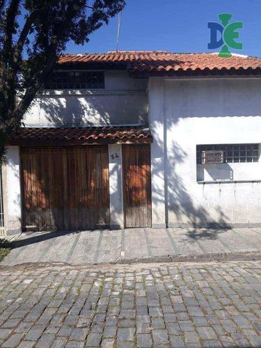 Casa Com 2 Dormitórios À Venda, 167 M² Por R$ 390.000 - Centro - Jacareí/sp - Ca0034