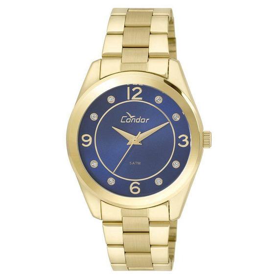 Relógio Condor Feminino Dourado Co2035klw/4a