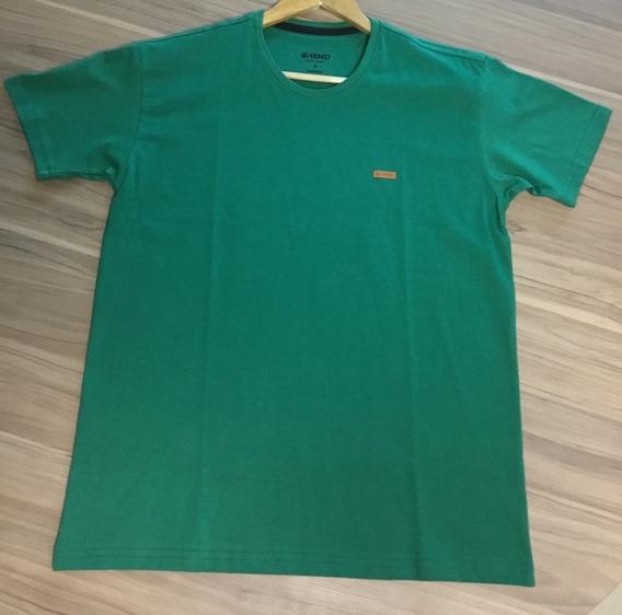 Camisa Hemd 100% Algodão Penteado