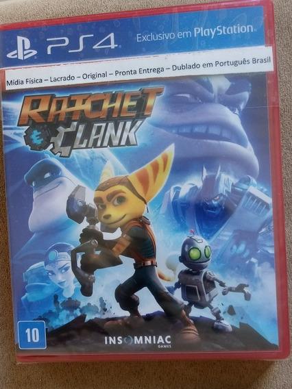 Ratchet Clank Ps4 Mídia Física Lacrado 100% Português
